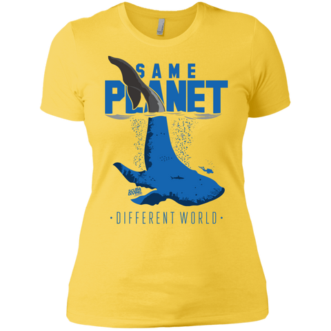 Image of Same Planet - Different Worlds Ladies Tees and V-Neck