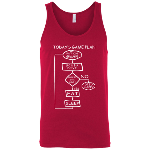 Today's Game Plan Diving Tank Tops