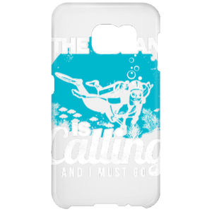 The Ocean Is Calling And I Must Go Phone Cases