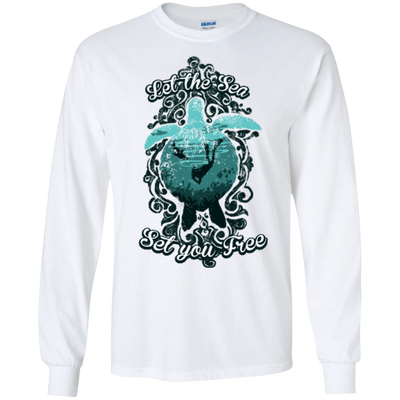 Let The Sea Set You Free - Vintage - Long Sleeves