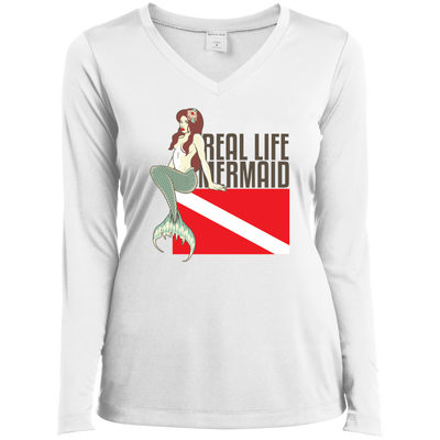 Real Life Mermaid Long Sleeves