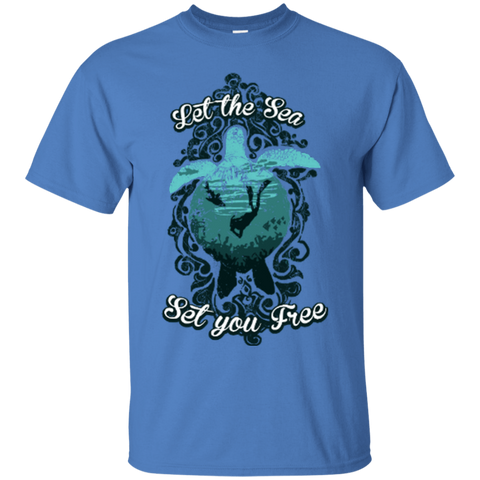 Image of Let The Sea Set You Free - Vintage - Tees