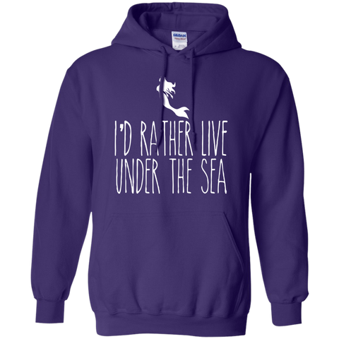 Image of I'd Rather Live Under The Sea Hoodies
