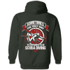 To Stay Sane Is Go Scuba Diving Hoodies