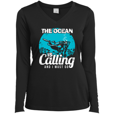 The Ocean Is Calling And I Must Go 2 -  Long Sleeves