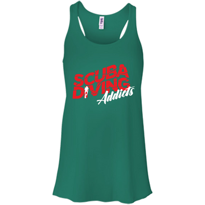 Scuba Diving Addicts Tank Tops