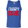 You Lost Me At I Don't Dive Tank Tops - scubadivingaddicts