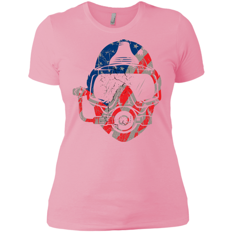 Image of USA Scuba Diver Ladies  Tees and V-Neck - scubadivingaddicts