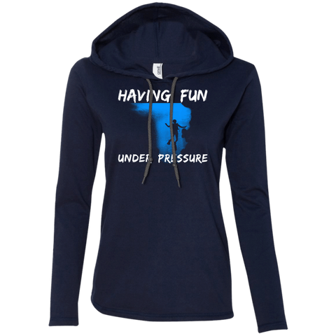 Image of Having Fun Under Pressure Hoodies