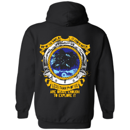 1% Is Brave Enough Hoodies - scubadivingaddicts