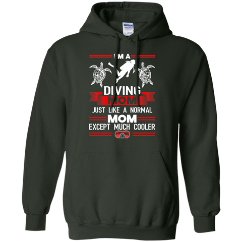 Image of I'm A Diving Mom Just Like A Normal Mom Except Much Cooler Hoodies