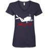 Japanese Scuba Ladies Tees and V-Neck
