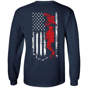 USA Scuba Flag Long Sleeves - scubadivingaddicts