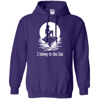 I Belong To The Sea Hoodies - scubadivingaddicts