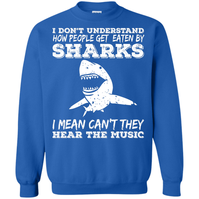 Can't They Hear The Music Long Sleeves - scubadivingaddicts