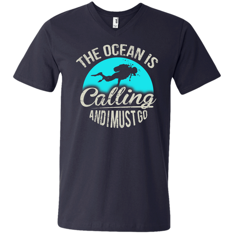 Image of The Ocean Is Calling And I Must Go Tees
