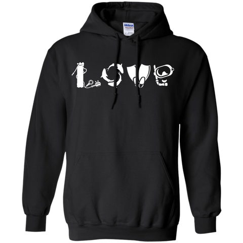 Image of Love Scuba Hoodies