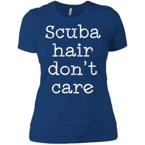 Scuba Hair Don't Care Tees