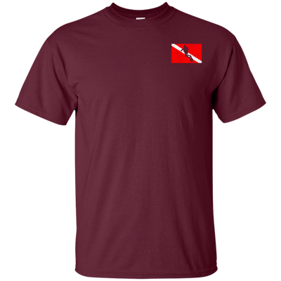 Scuba Diving Is Life Tees Maroon