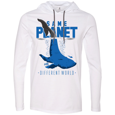 Same Planet - Different Worlds Hoodies