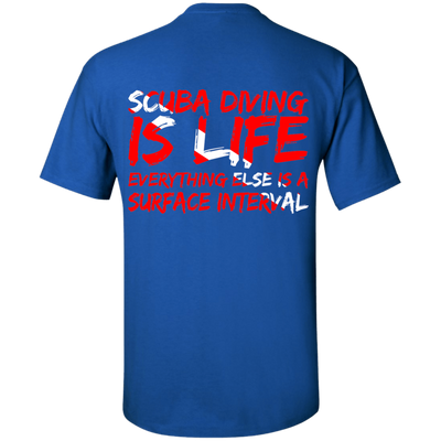 Scuba Diving Is Life Tees
