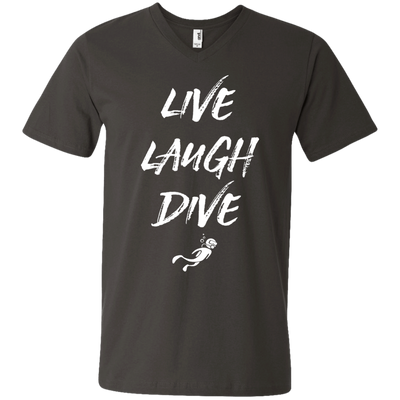 Live Laugh Dive Men's Tees and V-Neck