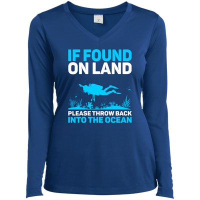 If Found On Land Please Throw Back Into The Sea Long Sleeves