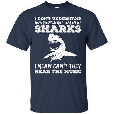 Can't They Hear The Music Tees - scubadivingaddicts