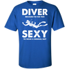 DIVER - Because I'm far too sexy to wear a normal suit Men's Tees and V-Neck