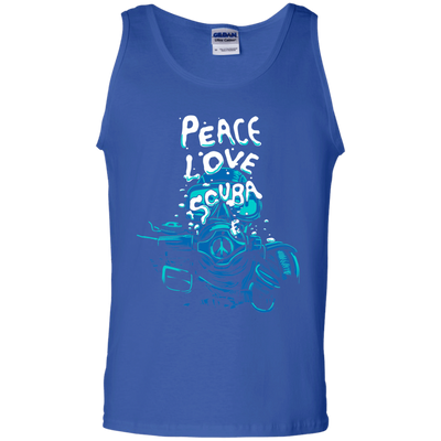 Peace Love Scuba Tank Tops