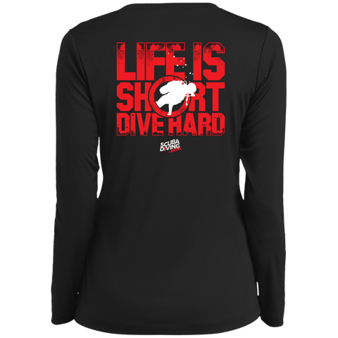 Image of Life Is Short, Dive Hard Long Sleeves