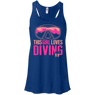 This Girl Loves Diving (Freediving Version) Tank Tops