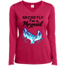 Secretly I'm A Mermaid Long Sleeves and Hoodies