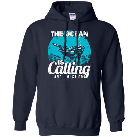 Image of The Ocean Is Calling And I Must Go 2 -  Hoodies