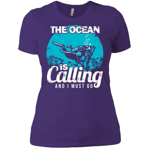 Image of The Ocean Is Calling And I Must Go 2 -  V-Neck