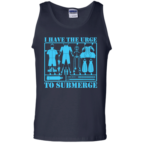 Image of I Have The Urge To Submerge Tank Tops - scubadivingaddicts