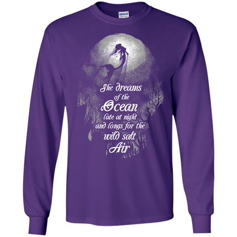 Image of She Dreams Of The Ocean Long Sleeves