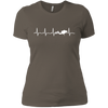 Scuba Heartbeat Ladies Tee (Warehouse)