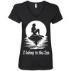 I Belong To The Sea Tank Tops / V-Necks - scubadivingaddicts