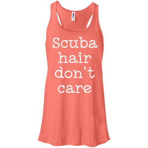 Scuba Hair Don't Care Tank Tops