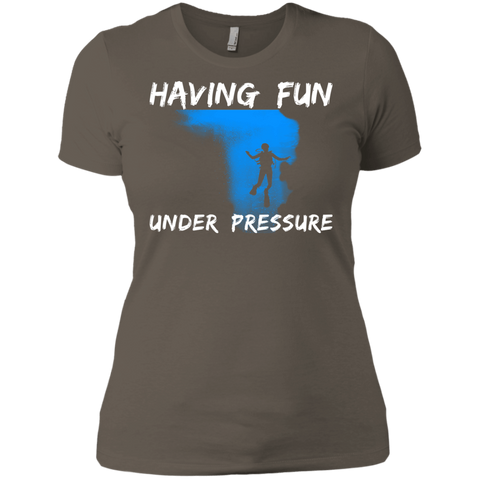 Image of Having Fun Under Pressure V-Necks