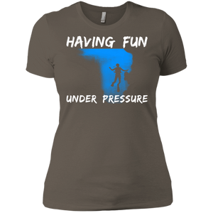 Having Fun Under Pressure V-Necks
