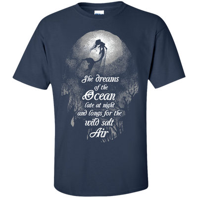 She Dreams Of The Ocean Tees