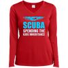 Scuba - Spending The Kids Inheritance Long Sleeves