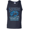 Diving Is My Religion The Ocean Is My Church Tank Tops