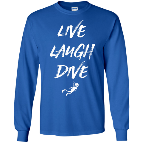 Image of Live Laugh Dive Long Sleeves