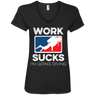Work Sucks I'm Going Diving Tees and V-Necks - scubadivingaddicts