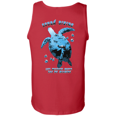 Life Without Depth Has No Meaning Tank Tops