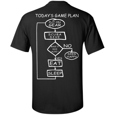 Today's Game Plan - Scuba Tees