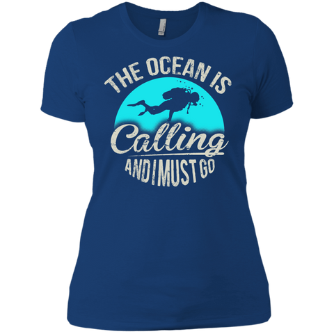 Image of The Ocean Is Calling And I Must Go V-Necks